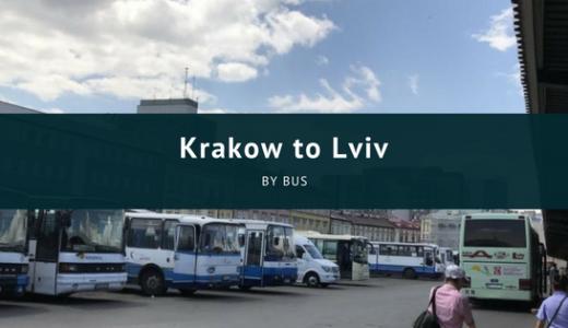 初の陸路での国境越え!初ウクライナ! バスでクラクフからリヴィウへ行く!