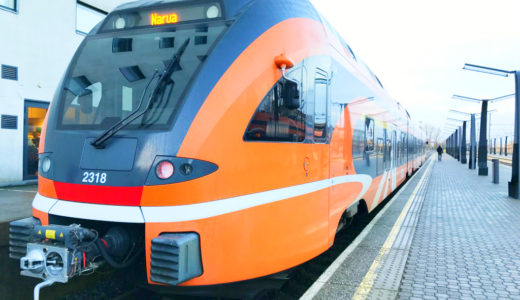 エストニア タリンからナルヴァへ電車で行く