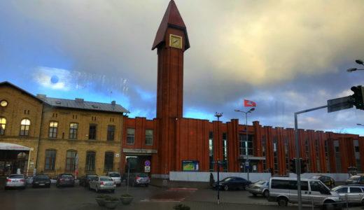 ラトビア リエパーヤからリトアニア カウナスへバスで行く(リトアニア クライペダ経由)