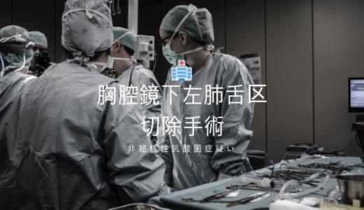 【非結核性抗酸菌症】胸腔鏡下左肺舌区切除手術の体験談を紹介