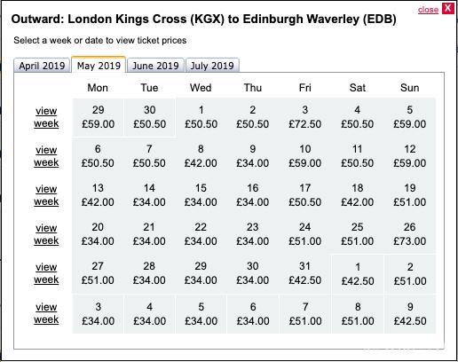 イギリス鉄道の時刻表はTrainlineを使おう! | と〜げのブログ